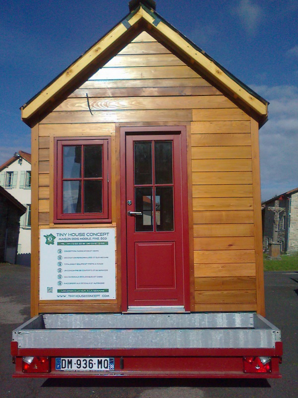 La Tiny House Made In France Avec Frederic Berard Tiny House