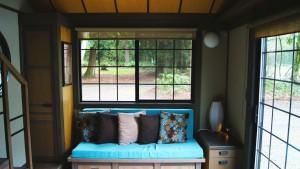 Le coin salon offre à cet espace une ambiance et style japonnais.