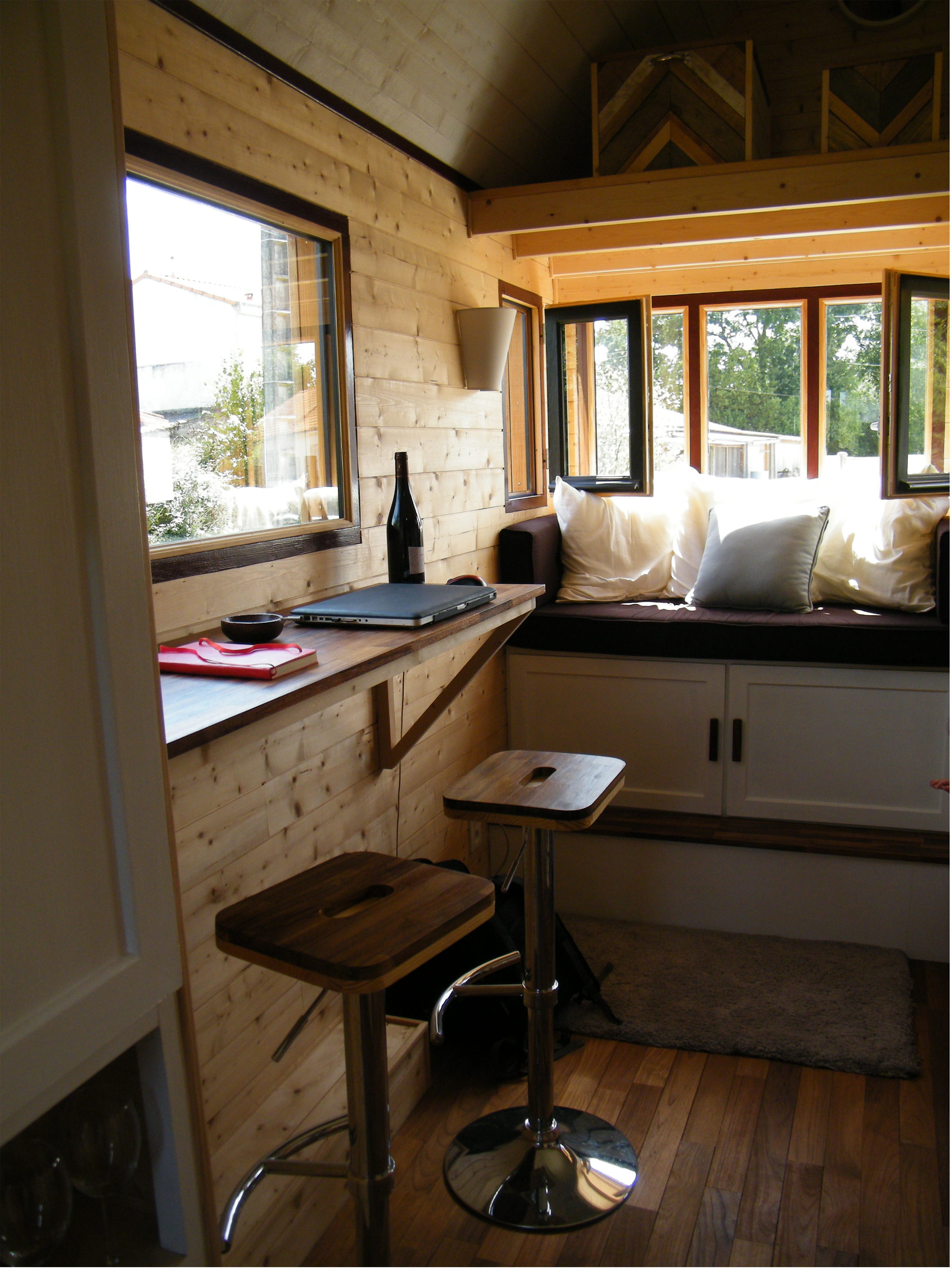 Une tiny house la fran aise nomm e baluchon 2 me for Le moi interieur