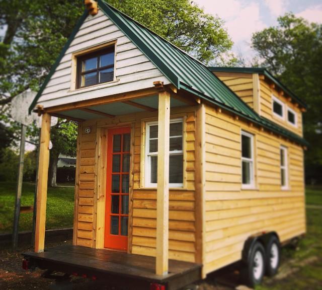 Une belle Tiny house façon chalet mobile !