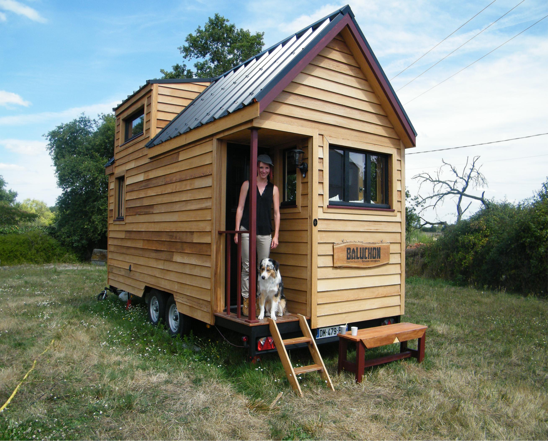 La Tiny house à la Française de Laetitia.