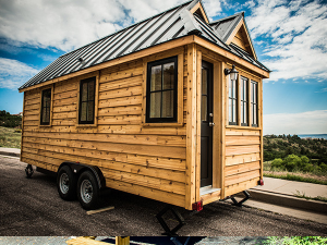 Un exemple de Tiny house réalisé par Tumbleweed.