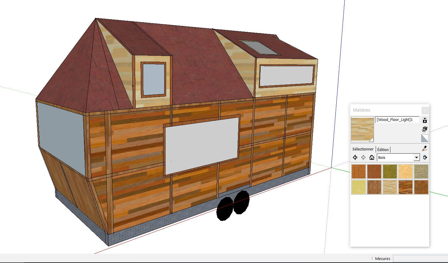 Avant Le Lancement De La Construction De La Tiny House , Voici La Maquette  De Lars