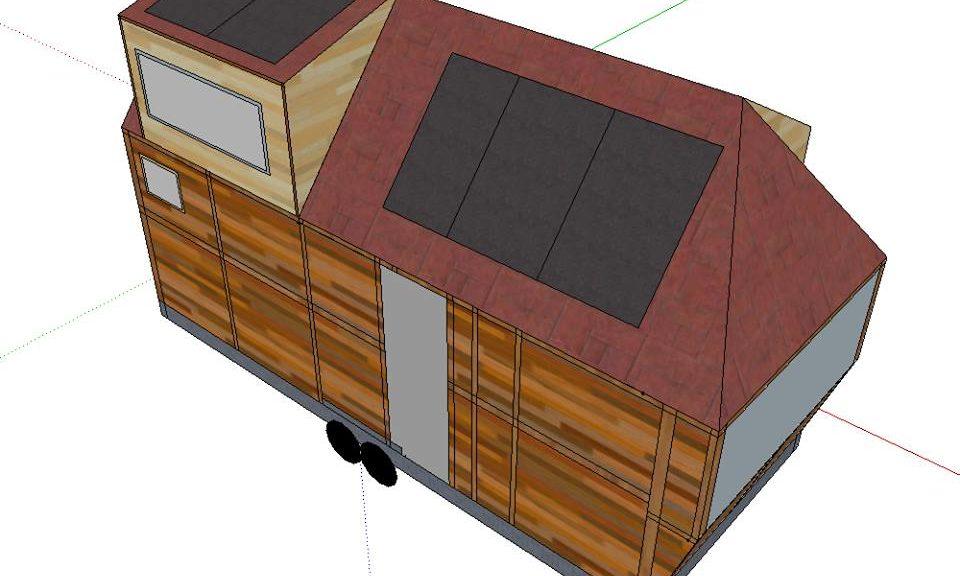 Le projet maquette de Tiny house de Lars.