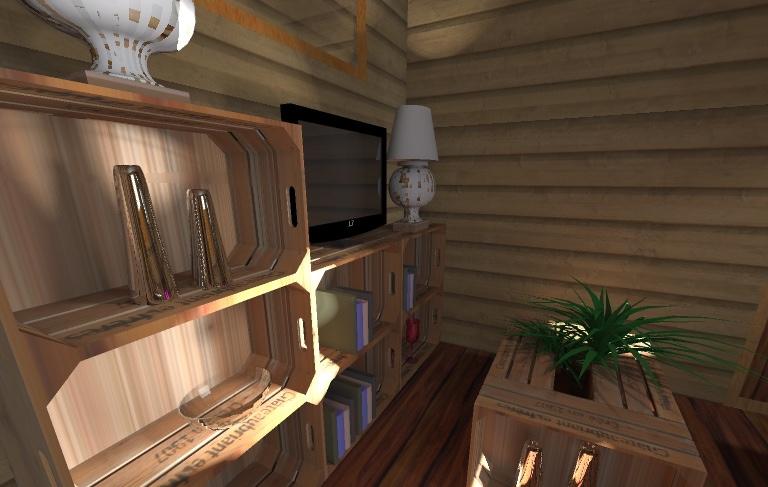 une d co en bois de r cup ration pour une tiny house. Black Bedroom Furniture Sets. Home Design Ideas
