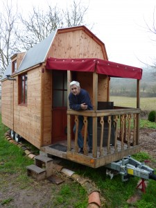 La tiny house de Bernard.