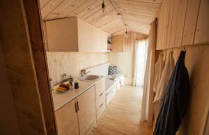 Un agencement de Tiny house minimaliste.