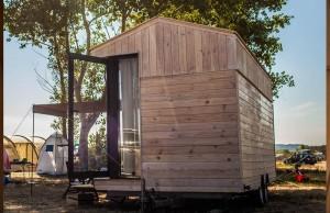 Une Tiny house idéale pour les vacances.