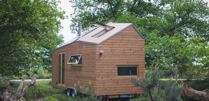 Une Tiny house de rêve pour Marjolaine, la propriétaire.