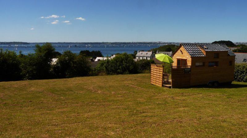 Une Tiny house qui apporte grand confort. Crédit photo: Ossatur.