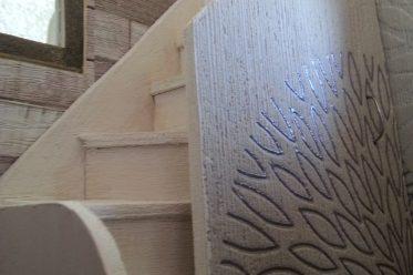 Positionnement d'escalier dans une Tiny house.
