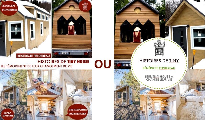 Quelle couverture livre tiny houses