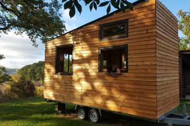 Crédit photo: Lucas Tiny house-ma maison qui roule.