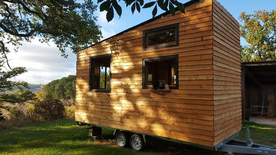 Une belle initiative pour un projet de tiny house tiny house for Construire sa tiny house