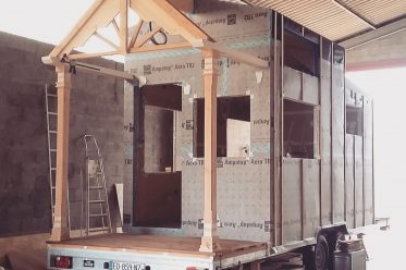 Photo crédit :Linvingston Auto-construction de Tiny house.