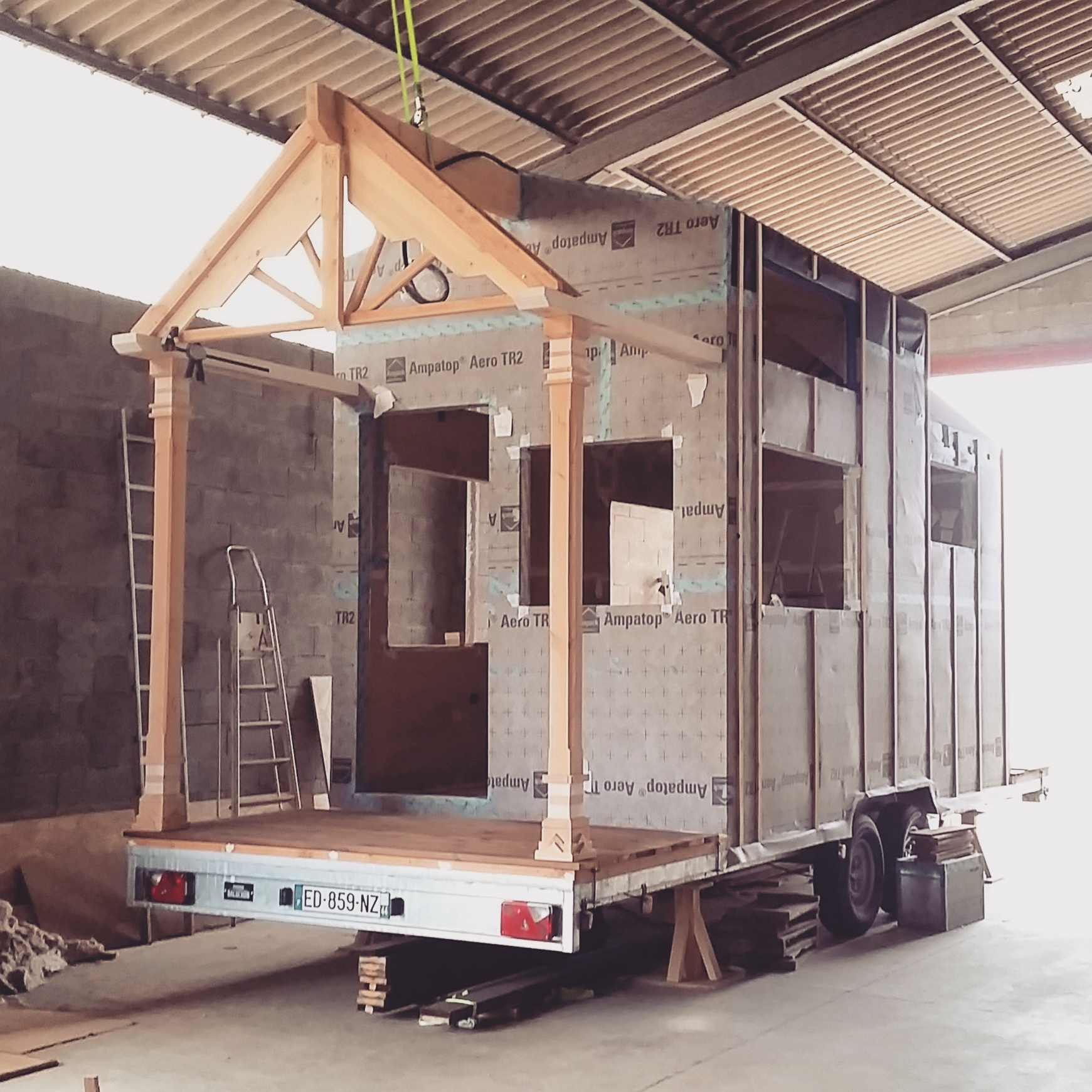 Pas pas comment construire une tiny house tiny house for Construire sa tiny house