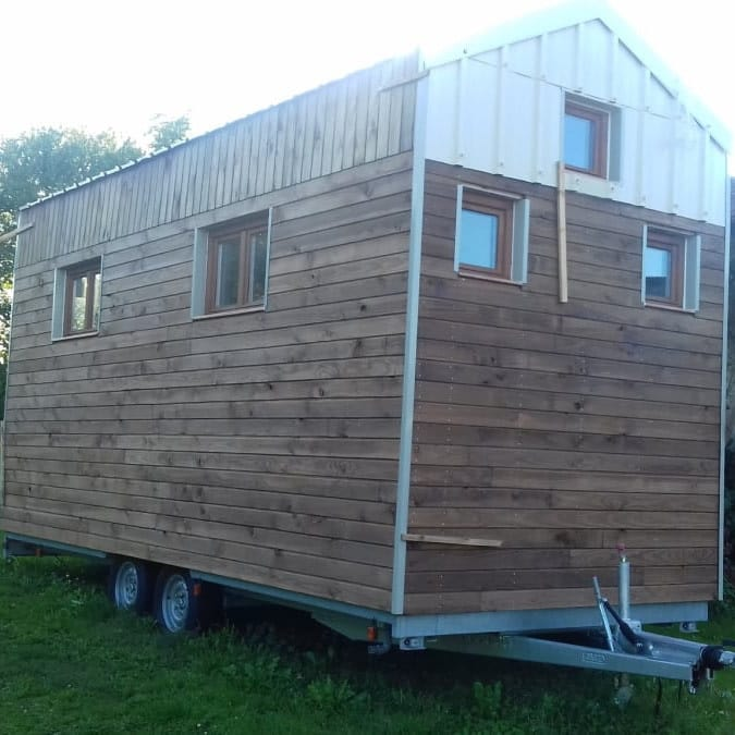 Une Tiny house sur mesure et bien étudiée.