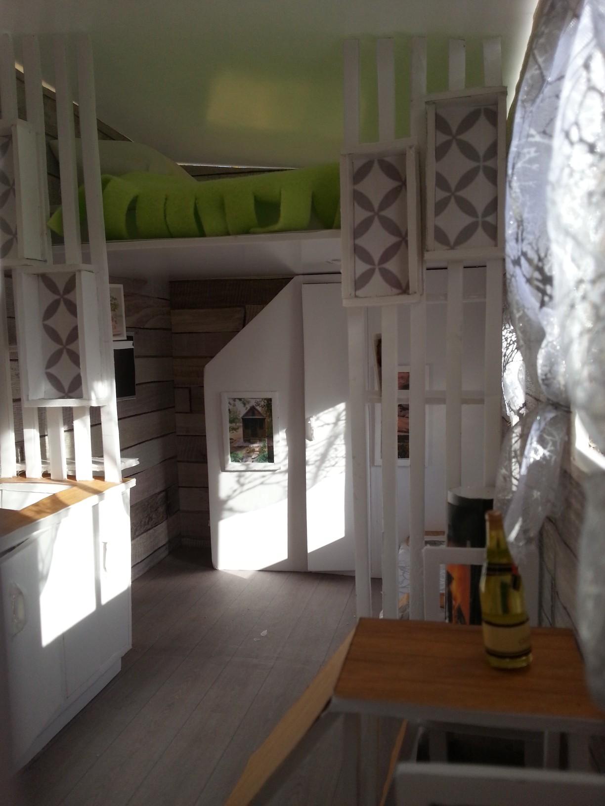 une maquette pour un nouveau projet tiny house. Black Bedroom Furniture Sets. Home Design Ideas